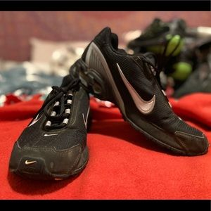Black and grey Nike air torch 3